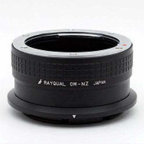 Rayqual 日本製レンズマウントアダプター<ニコンZマウントボディ>オリンパスOMレンズ/OM-NZ