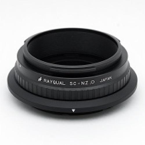Rayqual 日本製レンズマウントアダプター<ニコンZマウントボディ>ニコンS/コンタックスC 外爪レンズ/SC-NZ