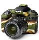 イージーカバー Canon EOS 9000D 用 カモフラージュ