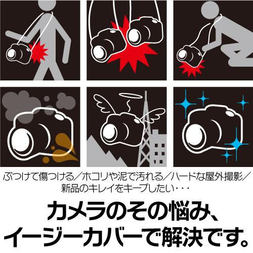 イージーカバー ソニー α1 用 カモフラージュ 液晶保護フィルム付属