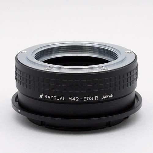 Rayqual 日本製レンズマウントアダプター<EOSRFマウントボディ>M42レンズ/M42-EOSR