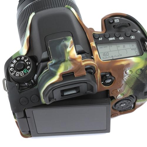 イージーカバー Canon EOS 80D 用 カモフラージュ