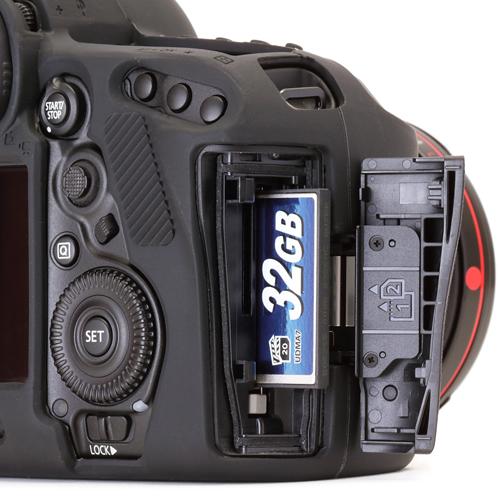 イージーカバー Canon EOS 5D Mark4 用 ブラック