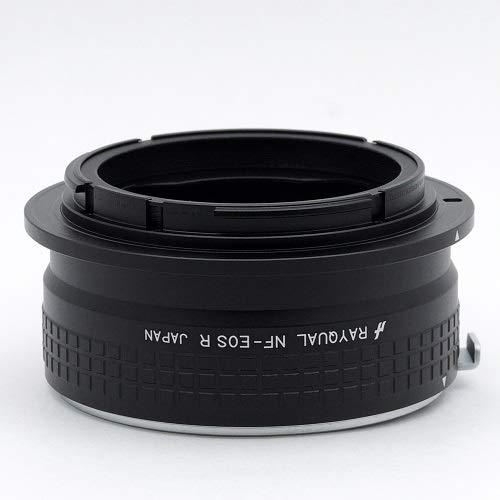 Rayqual 日本製レンズマウントアダプター<EOSRFマウントボディ>ニコンFレンズ/NF-EOSR