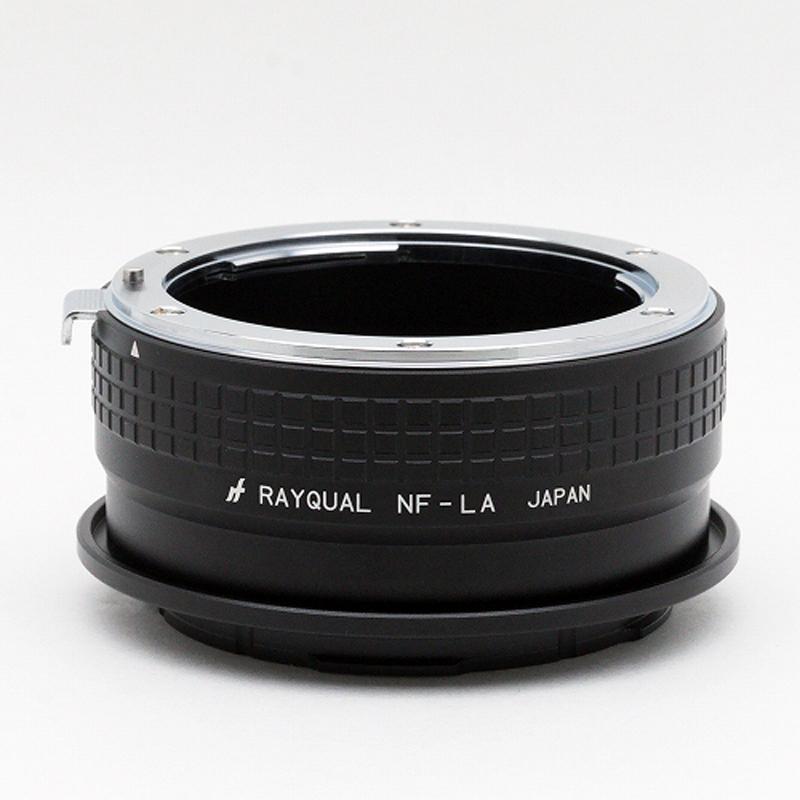 Rayqual 日本製レンズマウントアダプター<ライカLマウントボディ>ニコンFレンズ/NF-LA