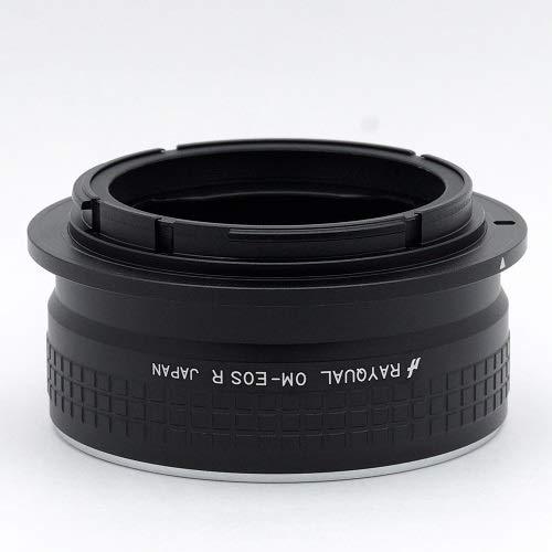 Rayqual 日本製レンズマウントアダプター<EOSRFマウントボディ>オリンパスOMレンズ/OM-EOSR