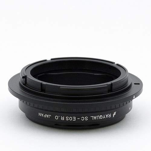 Rayqual 日本製レンズマウントアダプター<EOSRFマウントボディ> ニコンS・コンタックスCレンズ/SC-EOSR.O