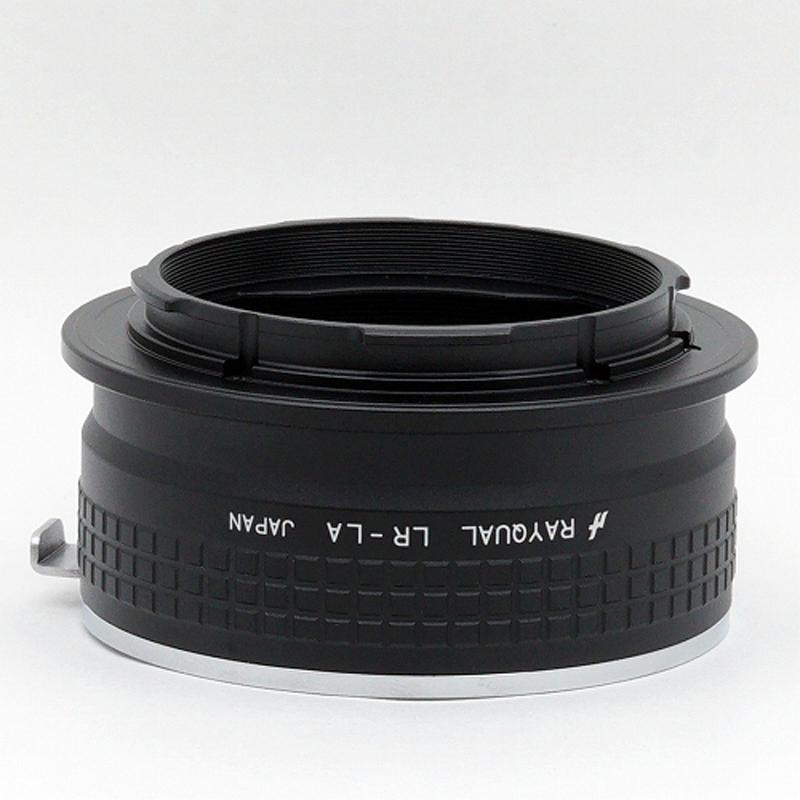 Rayqual 日本製レンズマウントアダプター<ライカLマウントボディ>ライカRレンズ/ LR-LA