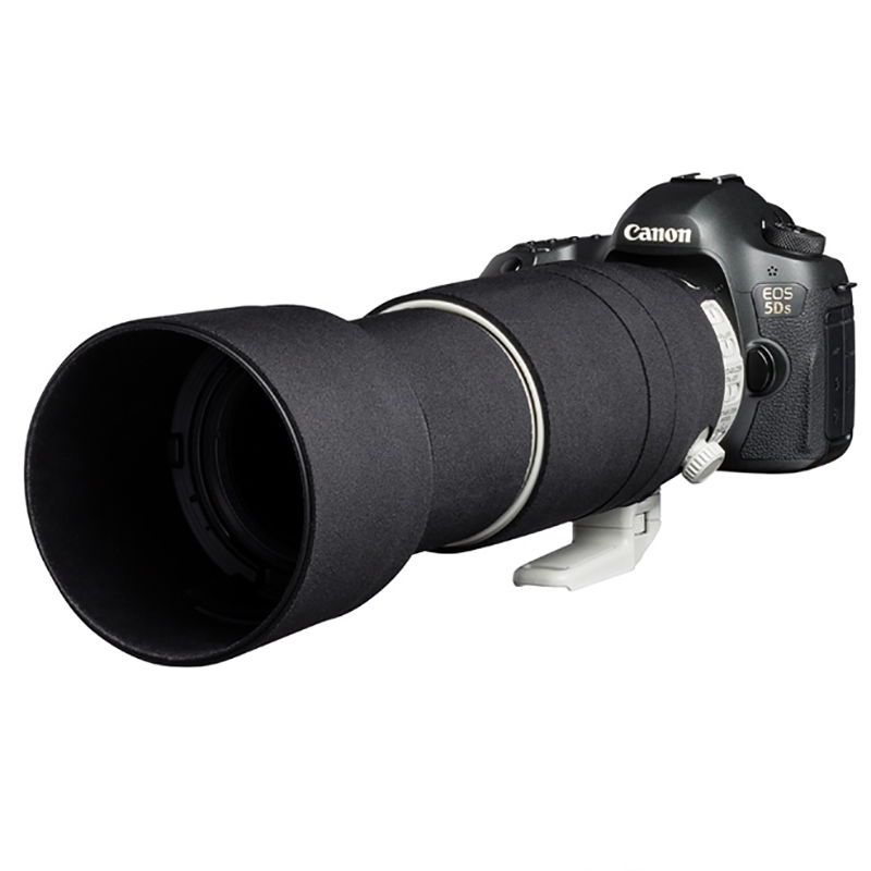 イージーカバー レンズオーク キヤノン EF 100-400mm F4.5-5.6L IS II USM 用 ブラック