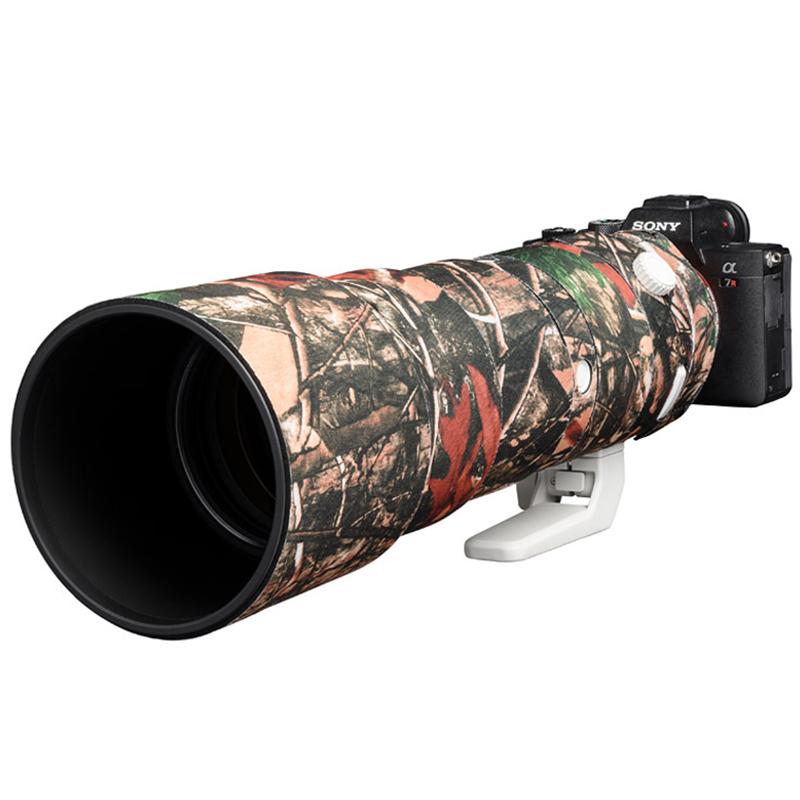 イージーカバー レンズオーク ソニー FE 200-600 F5.6-6.3 G OSS  用 フォレスト カモフラージュ