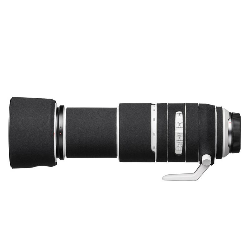 イージーカバー レンズオーク キヤノン RF 100-500mm F4.5-7.1L IS USM 用 ブラック
