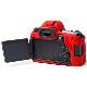 イージーカバー Canon EOS 6D Mark2 用 レッド