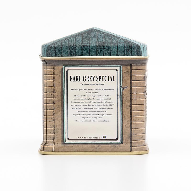 北欧紅茶【アールグレイスペシャル】スモールハウス缶(150g)