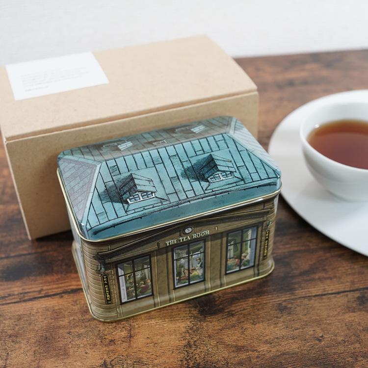 北欧紅茶ギフト【アールグレイスペシャル】スモールハウス缶(150g)