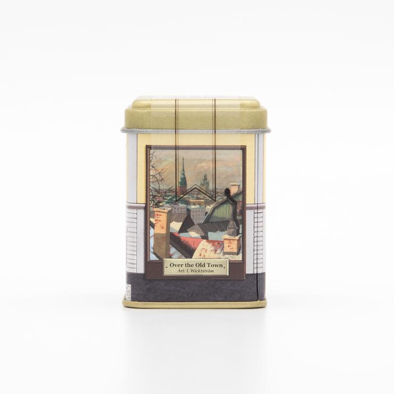 北欧紅茶【ロイヤルセーデルブレンド・緑茶】ミニ缶(22g)