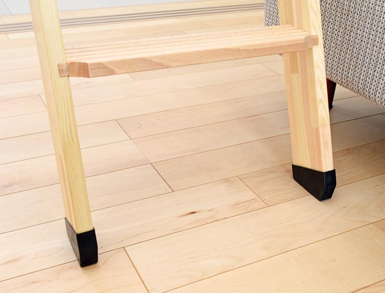 軽量【北欧ラダー】 木製ロフトはしご