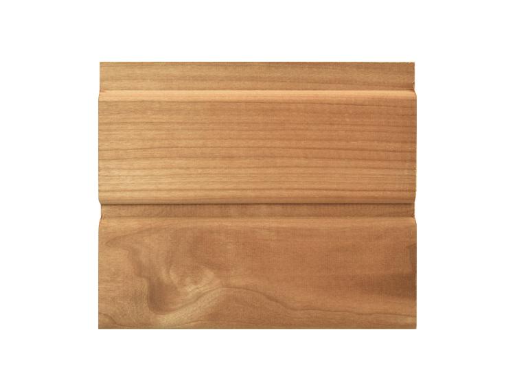 【アスペン サーモウッド】羽目板 R溝 無塗装 無節 15x80x1350(1500)mm(12枚入)
