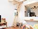 国産【セーフティーラダー】 木製ロフトはしご 側面手すり仕様
