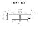 【T型床見切 FMT】イノヴァーフロア専用 6種類 11.7x40x2700mm