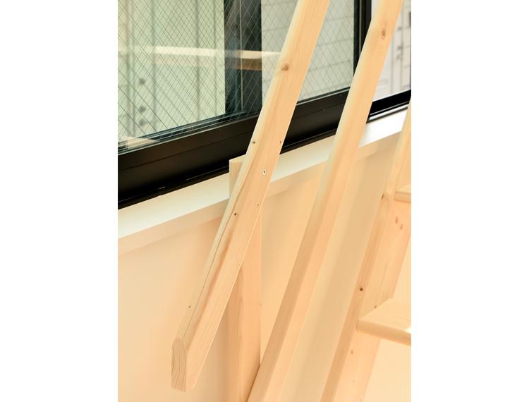 木製ロフト階段用 追加手すりセット