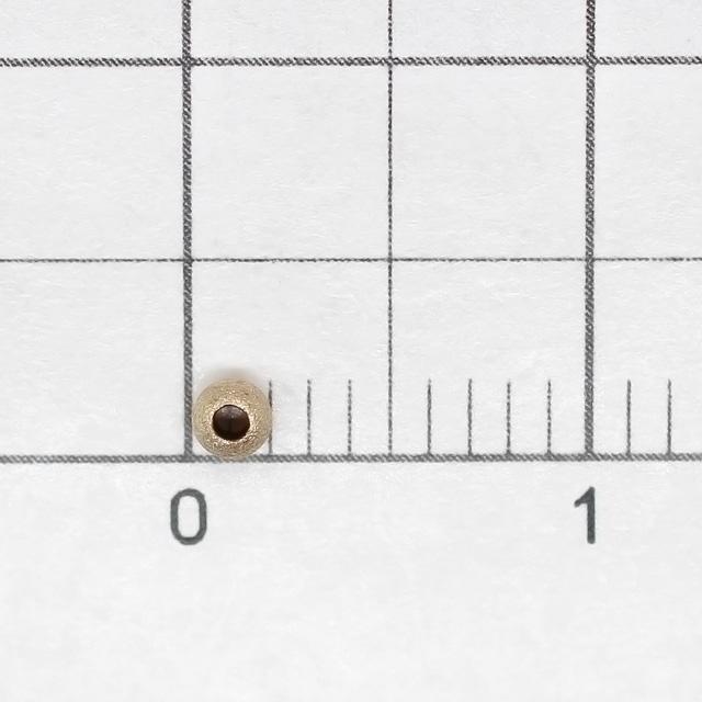 02C0017GFB 14KGF製ビーズ ラウンド スターダスト   2.0mm穴径0.9mm 8ヶ