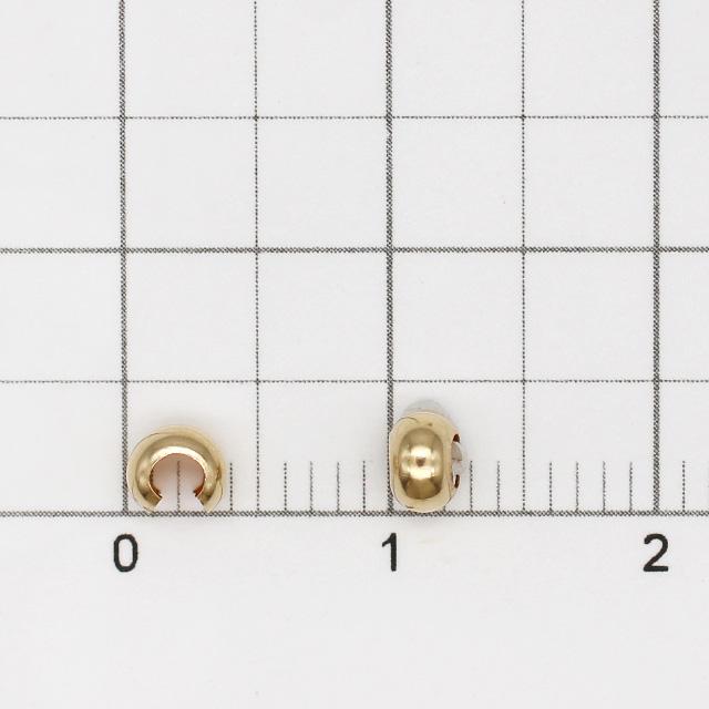 02C0023GFP 14KGF製カシメカバー 2.5×3.5mm 6ヶ