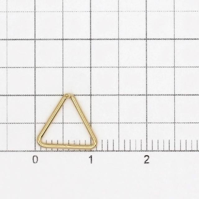 02C0115GFE 14KGF製ピアス トライアングル 10.0×11.0×10.5mm線径0.74mm 1ペア