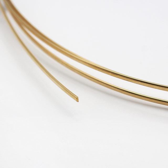01S0033GFW 14KGF製ワイヤー ハーフラウンド ハーフハード 線径1.2mm 10cm