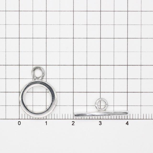 0020304SVP SV925製マンテル 平打ち リング19.0×14.0×1.6mm,バー7.0×20.5×2.2mm 1セット
