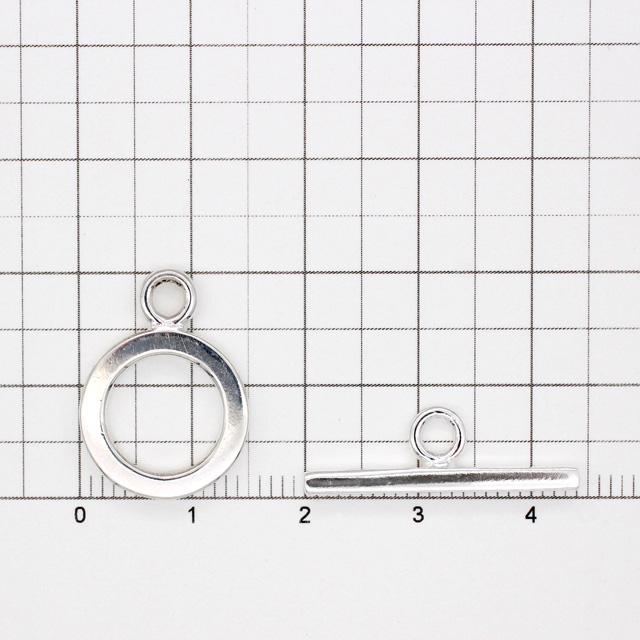 0020305SVP SV925製マンテル 平打ち リング20.5×15.0×2.2mm,バー7.5×24.5×2.2mm 1セット