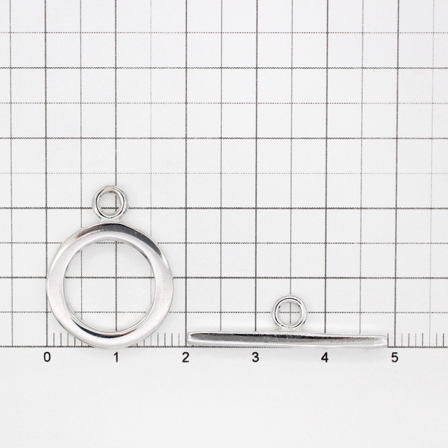 0020306SVP SV925製マンテル 平打ち リング24.0×18.5×2.2mm,バー7.5×29.0×2.2mm 1セット