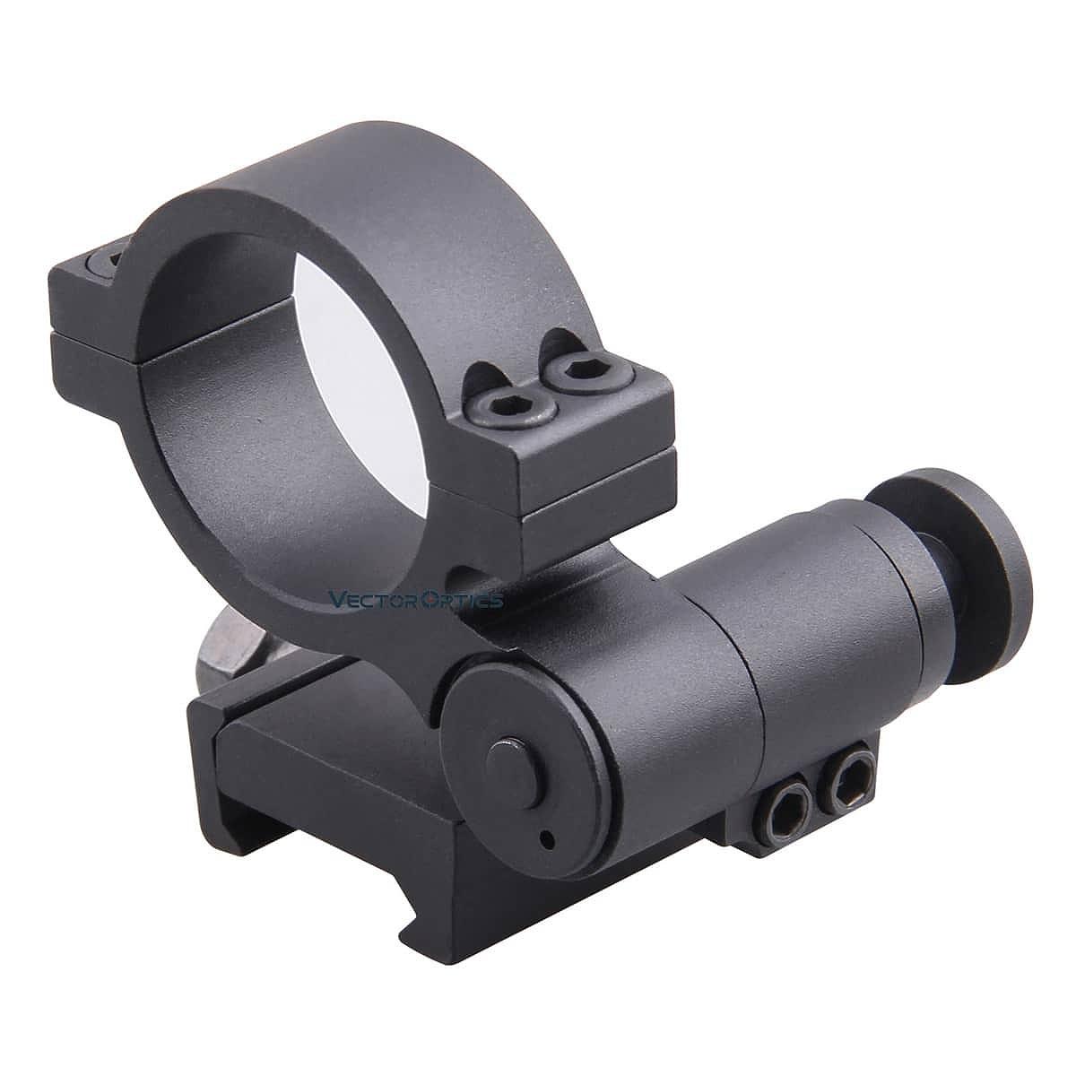 【お届け予定日: 5月30日】ベクターオプティクス スコープマウント 30mm Flip to Side Picatinny Ring  Vector Optics SCTM-17