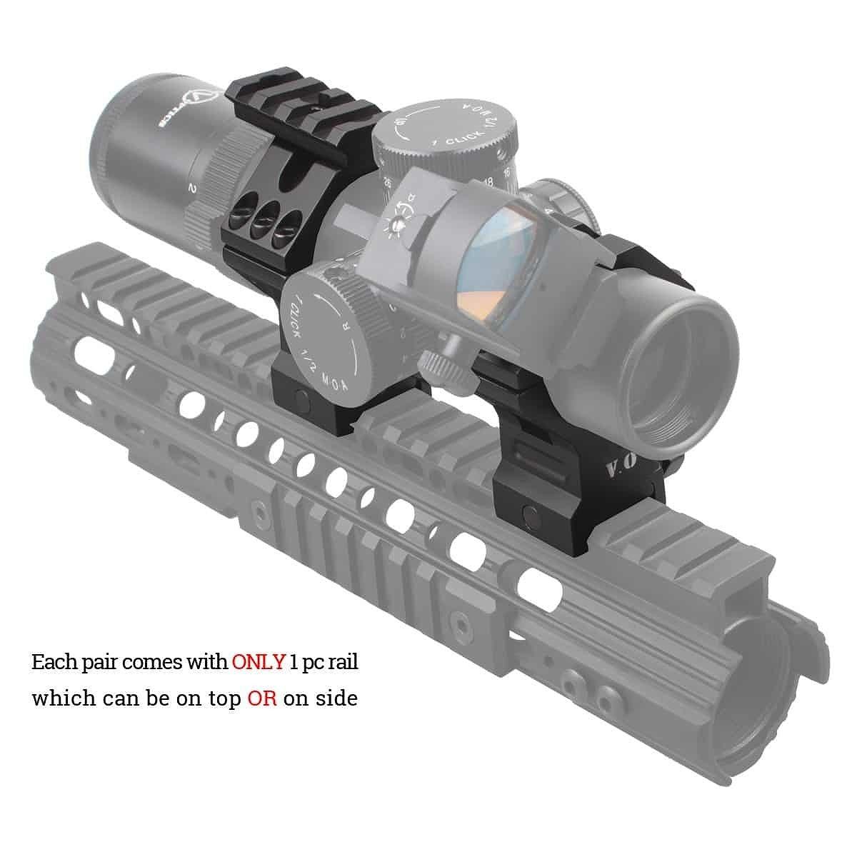 ベクターオプティクス スコープマウント 35/34mm Tactical HighProfile Picatinny Rings  Vector Optics SCTM-32