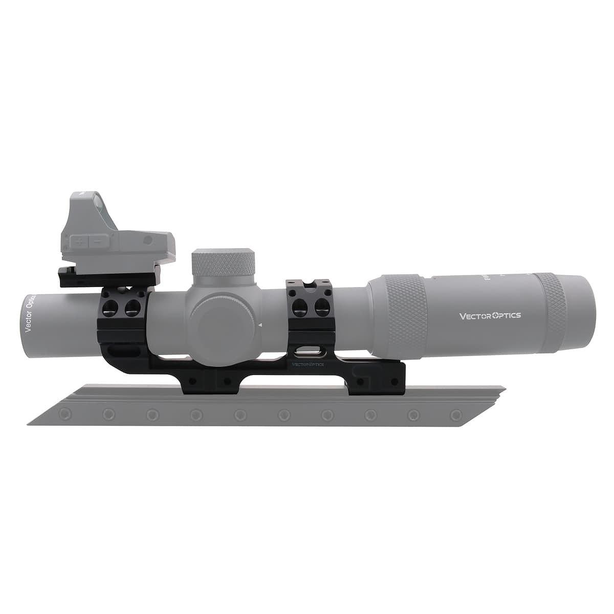 【お届け予定日: 5月30日】ベクターオプティクス スコープマウント 30mm One PieceDovetail Mount  Vector Optics SCACD-16