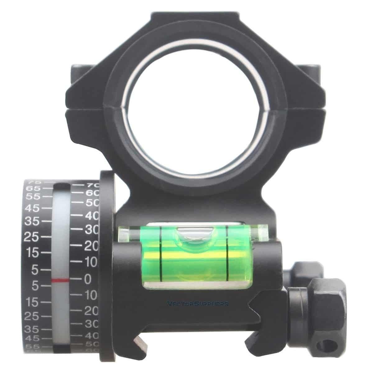 【お届け予定日: 5月30日】ベクターオプティクス スコープマウント 30mm One Piece Angle Indicator  Vector Optics SCACD-14