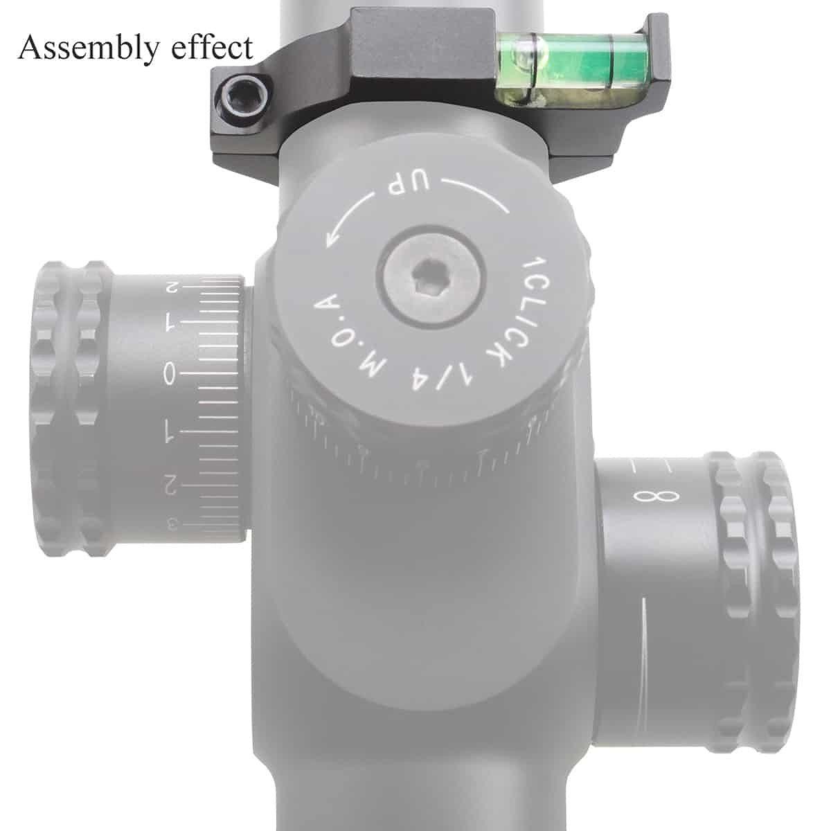 【お届け予定日: 5月30日】ベクターオプティクス 水平器 30mm Offset Bubble  Vector Optics SCACD-03