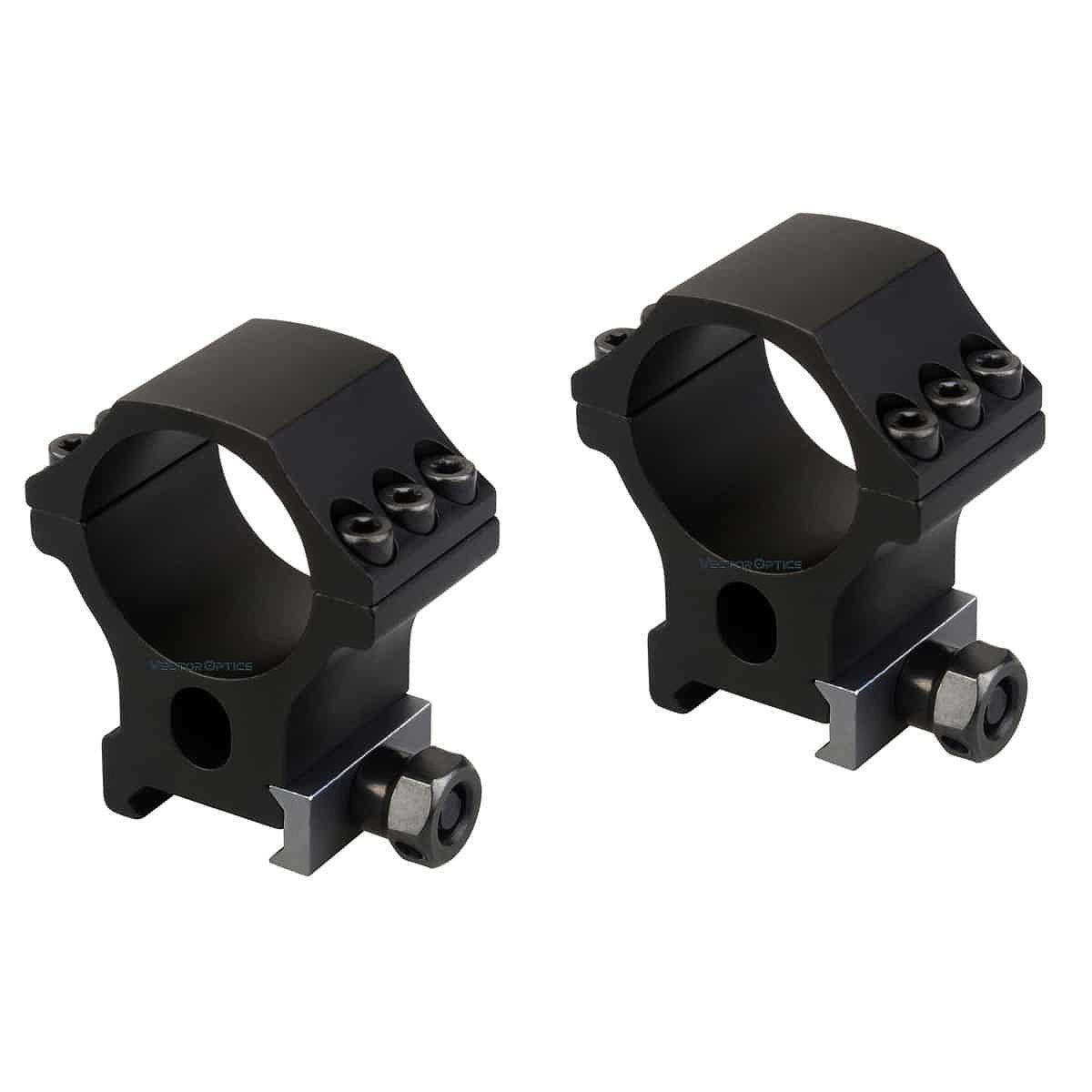 【お届け予定日: 5月30日】ベクターオプティクス スコープマウント 30mm X-Accu 1.25″Profile Picatinny Rings  Vector Optics SCTM-34
