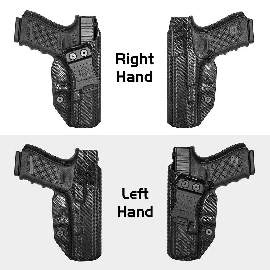 アンバライド ホルスター グロック 19 19X 23 32 45 (Gen 1-5) - IWB KYDEX Holster Amberide Glock 19 19X 23 32 45 (Gen 1-5) - Coyote Brown / Right - IWB KYDEX Holster