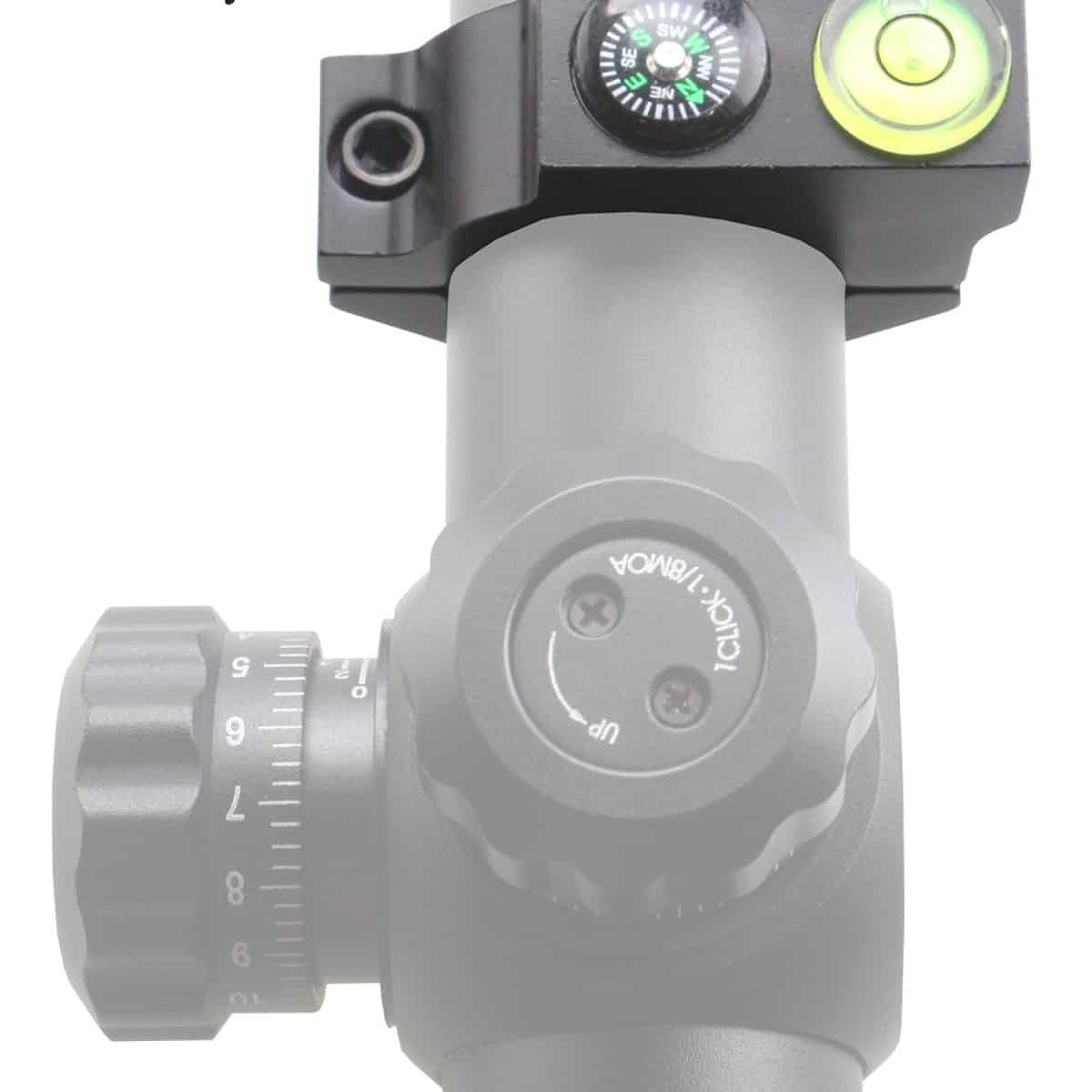 【お届け予定日: 5月30日】ベクターオプティクス 水平器 25.4mm Offest Bubblew/ Compass  Vector Optics SCACD-06