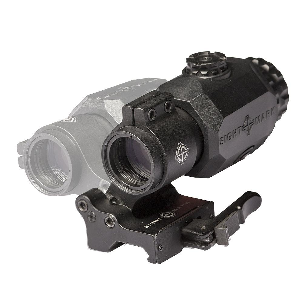 サイトマーク マグニファイア XT-3 Tactical Magnifier with LQD Flip to Side Mount Sightmark SM19062