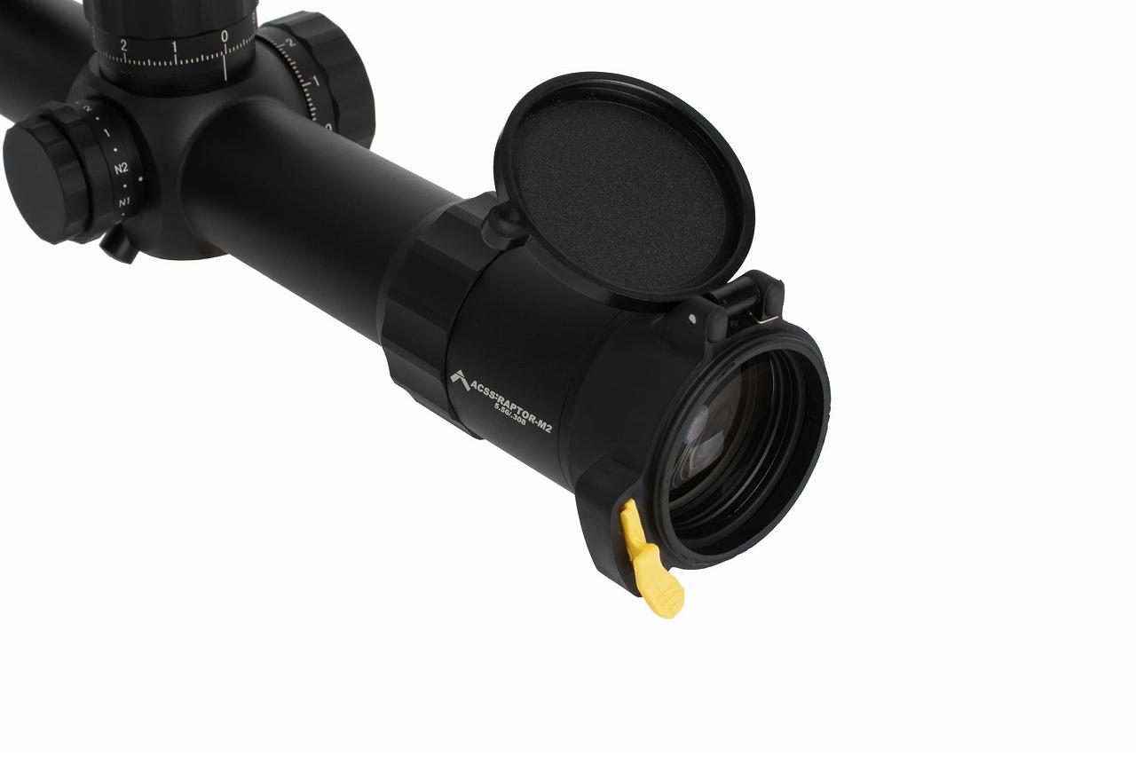 プライマリーアームズ PLx 1-8x24mm FFP ライフルスコープ - Illuminated ACSS Raptor M2 5.56 / .308 - PA-PLX8-1-8X24F-RAPTOR-5.56