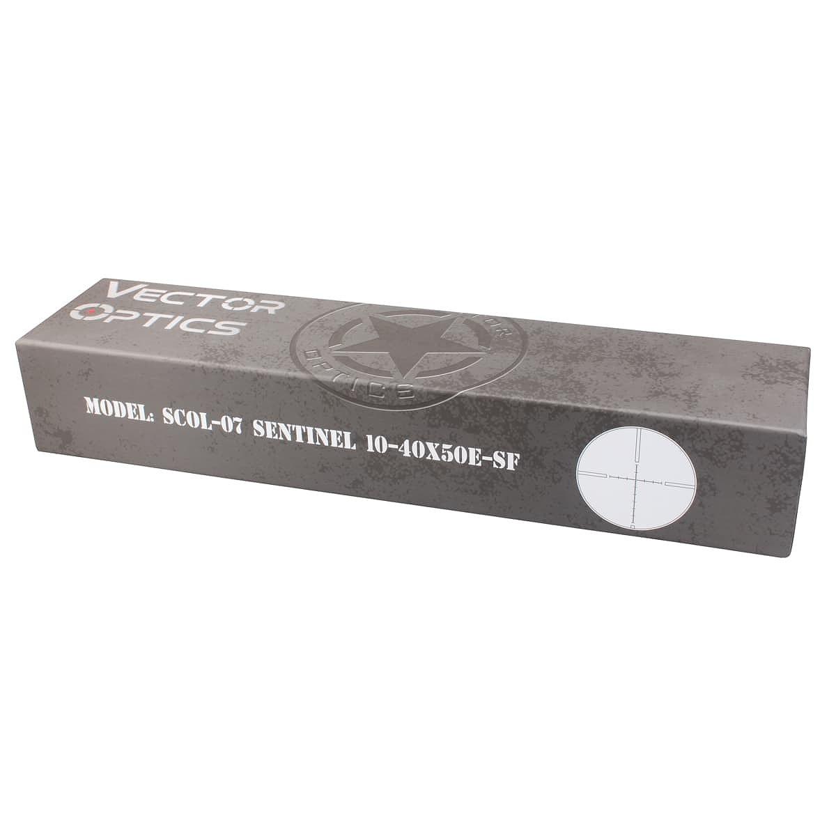 【お届け予定日: 5月30日】ベクターオプティクス ライフルスコープ Sentinel 10-40x50 GenII  Vector Optics SCOL-07
