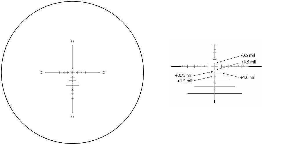 【お届け予定日: 5月30日】MTC ライフルスコープ SWAT Prismatic 10 x 30 'Atom' MTCoptics