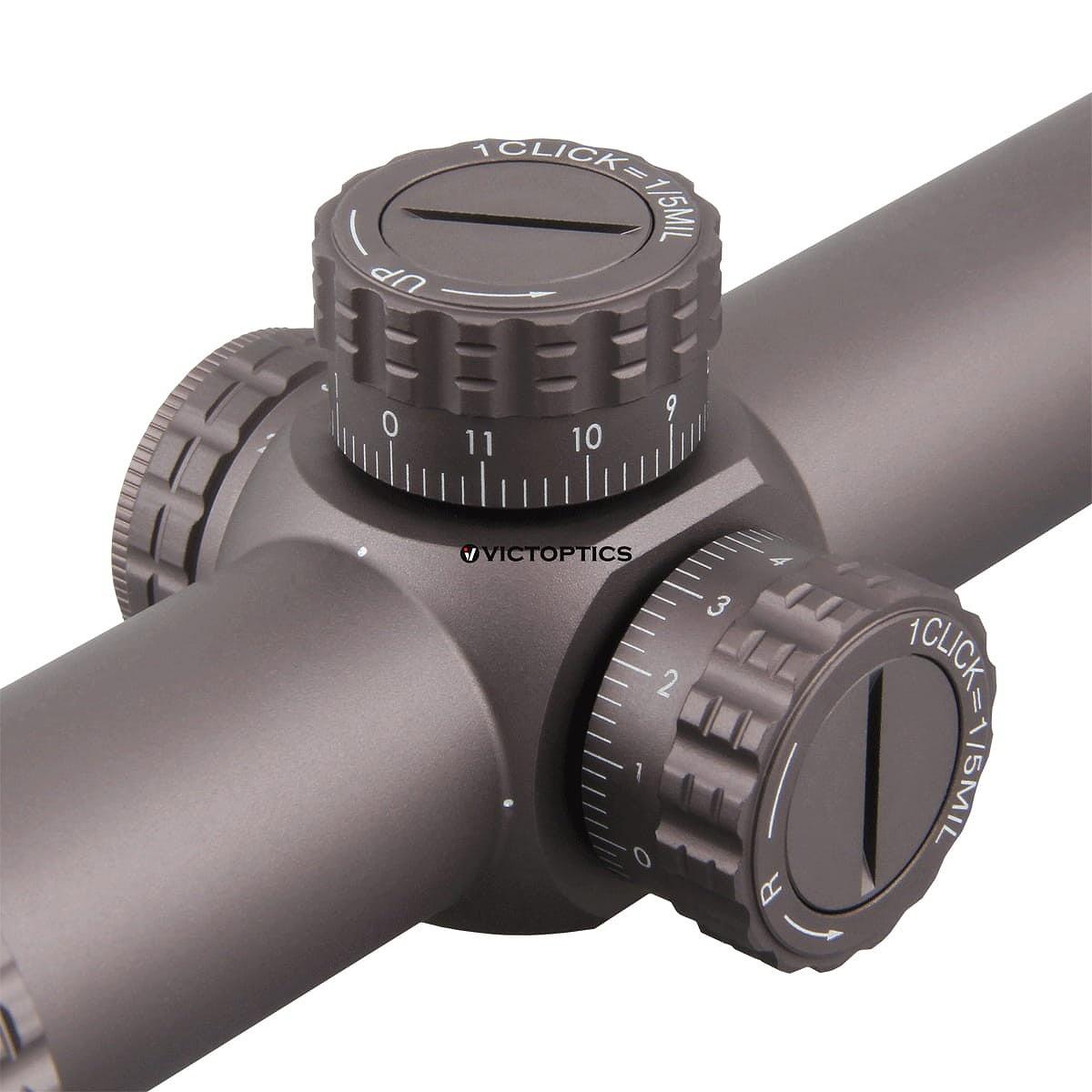 ベクターオプティクス  ライフルスコープ S6ブラウン Vector Optics S6 Burnt Brown 1-6x24
