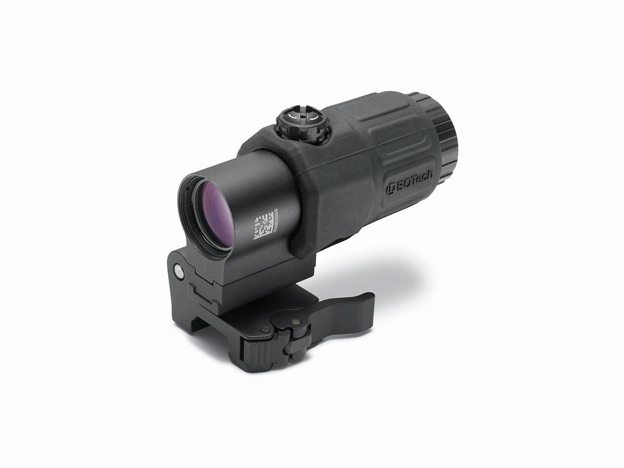 イオテック マグニファイア 3倍 ブラック EOTECH 3 power magnifier with quick disconnect, switch to side (STS) mount  BLK