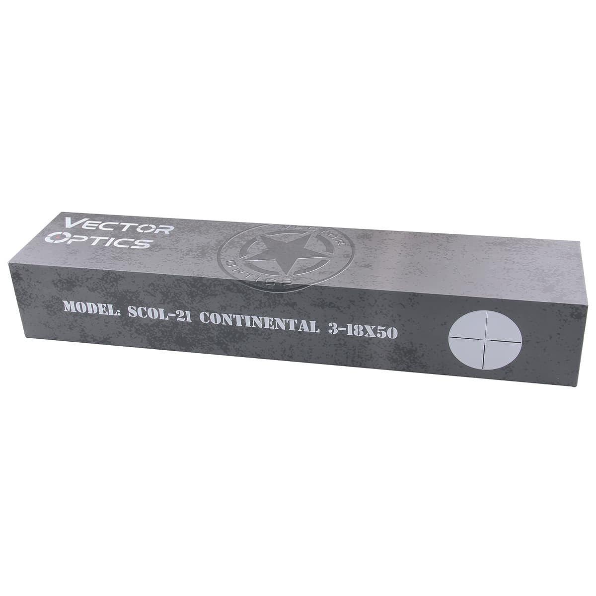 ベクターオプティクス ライフルスコープ Continental 3-18x50  Vector Optics SCOL-21
