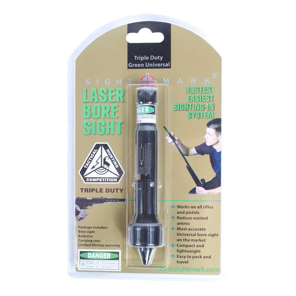 サイトマーク ボアサイト Triple Duty Universal Green Laser Boresight Sightmark SM39026