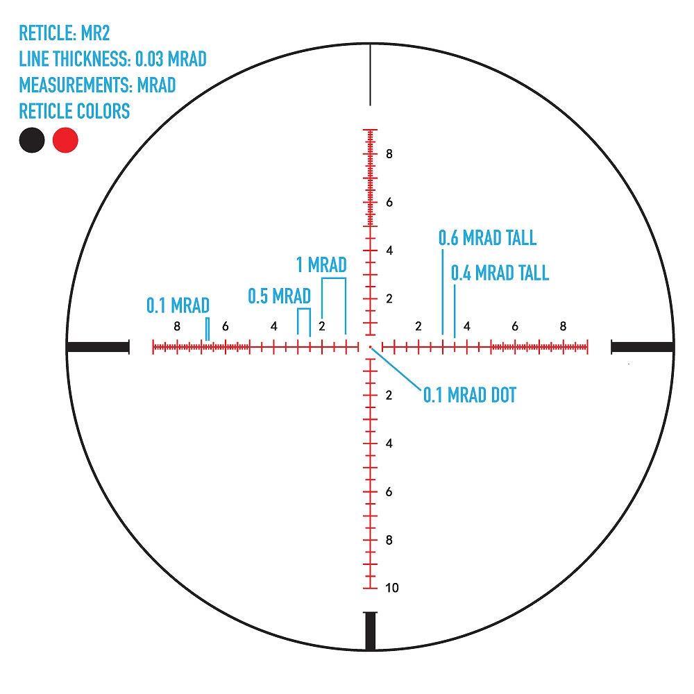 サイトマーク ライフルスコープ Citadel 3-18x50 MR2 Riflescope Sightmark SM13039MR2