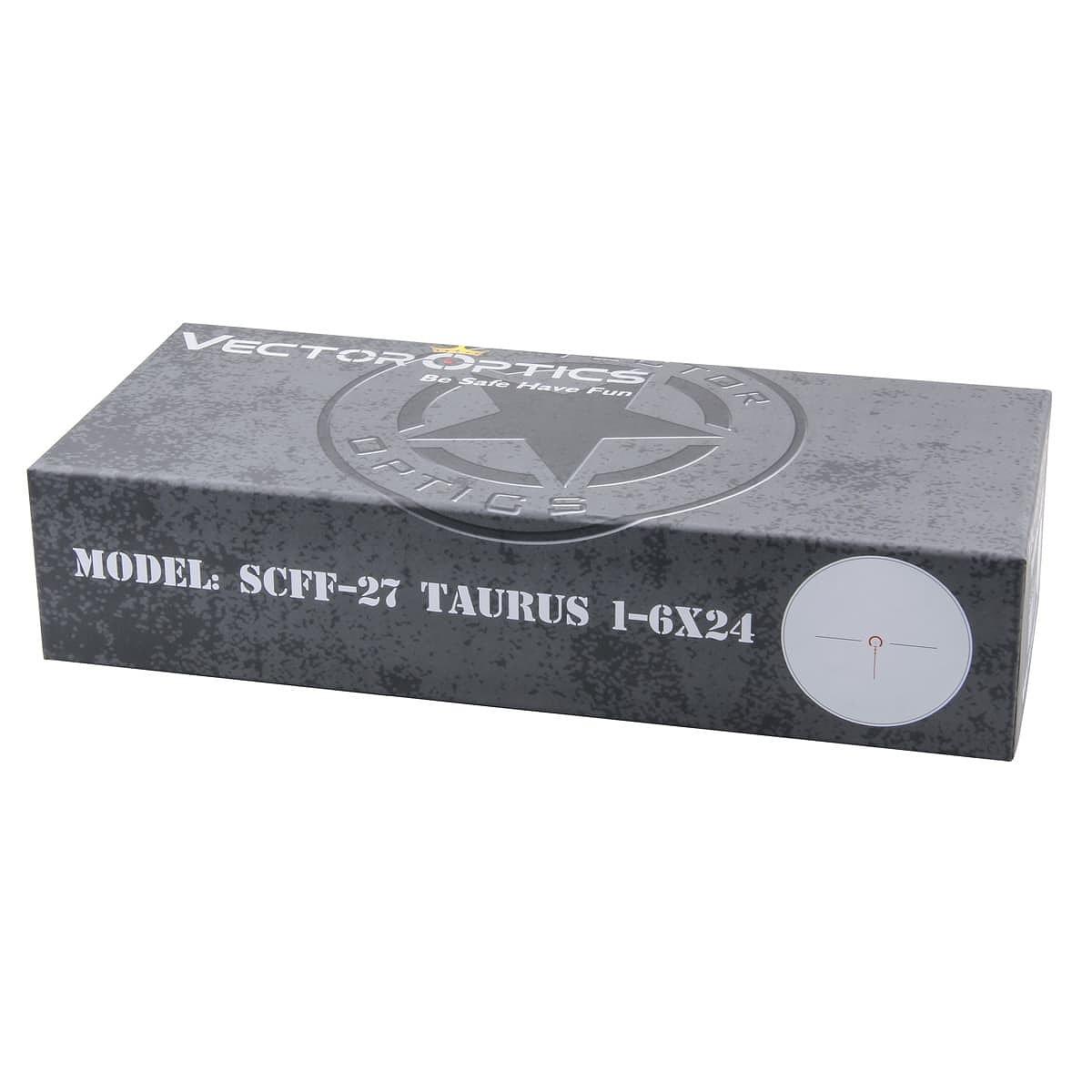 【お届け予定日: 2月28日】ベクターオプティクス ライフルスコープ Taurus 1-6x24  Vector Optics SCFF-27