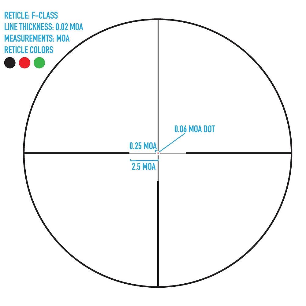 サイトマーク ライフルスコープ Latitude 6.5-25x56 F-Class Riflescope Sightmark SM13042FTR